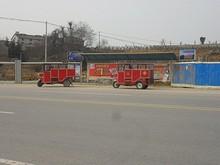 蘭花のバス停