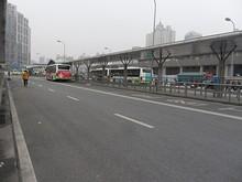 北口の路線バス乗場