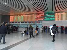 上海駅北口切符売り場