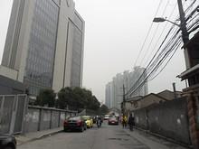 所変わって上海駅南側