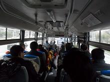龍港快線バス車内