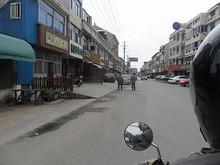 蘆潮港の町