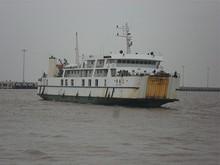 舟橋2号が接近