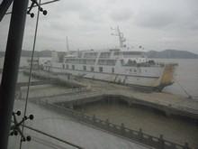 昨日乗って来た「舟橋2号」