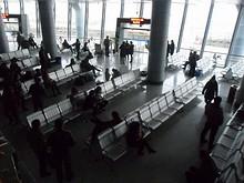ターミナルの待合室
