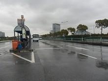 深水港商務広場のバス停