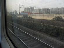 高速鉄道と併走