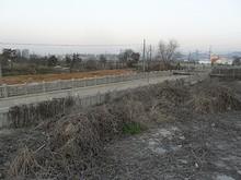 線路と道路の立体交差