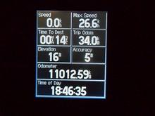本日の走行距離は34.0kmでした