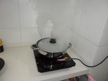炊飯中・・・