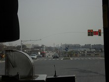 湯山の町東出口
