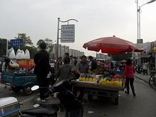 金宝市場バス停