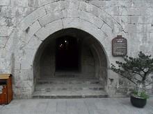 蔵兵洞の北側入口