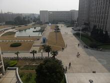 図書館から見た景色