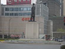 新街口ロータリーの孫中山像
