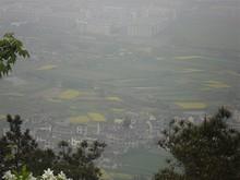 北側。銅山村のあるあたり