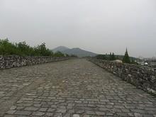 南京城壁の上