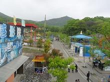 園内西側の遊園地