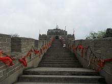 長城の最高点へ