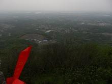 最高点から永寧鎮を見る
