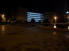 夜の第二教学楼