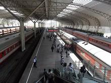 南京駅ホーム