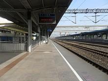 昆山駅1番ホーム