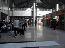 バスターミナルの中