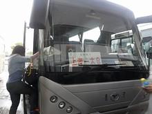 上海総合ターミナル行き高速バス