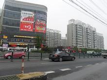 上海郊外は恵南鎮の町並み