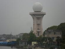 謎のレーダー施設