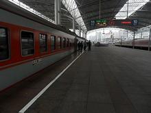 上海駅11番ホーム