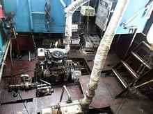 船のエンジンルーム
