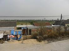 長江沿いの村