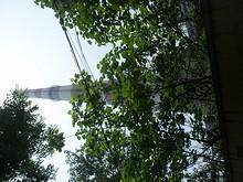 中山埠頭そばのでかい煙突
