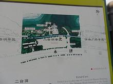 二台洞エリアの地図