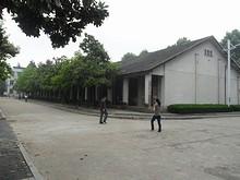 第二教学楼東側の建物
