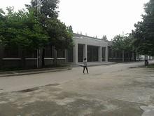第二教学楼北側の建物