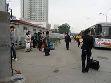 南京駅西バス停