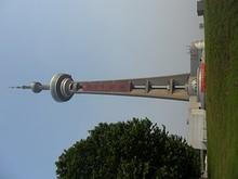 南京テレビ塔を北から