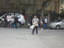 南京市第29中学の生徒