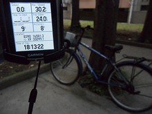 今日の走行距離は24kmでした