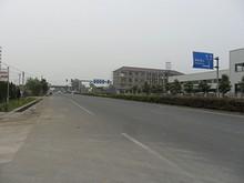 バス停前から南京市方向を見る