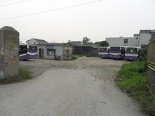 寧井線バスの終点