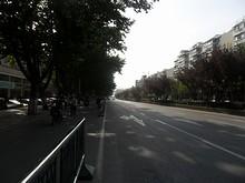 南京理工大バス停と寧杭公路