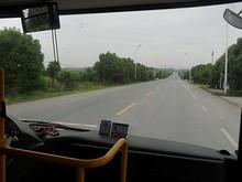 山田奶業バス停付近