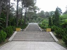 鄭和墓への階段