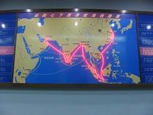 鄭和7航海ルート図