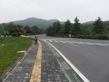 鄭和墓からの道
