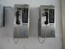 中国鉄通の公衆電話